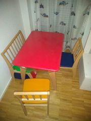 Sitzecke für Kinder in Echtholz