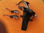 Blinker und Kennzeichenhalter für Yamaha