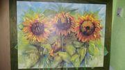 Bild Sonnenblume Unikat