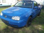 VW Golf 4 Cabrio Color