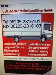 Umzüge und Möbel Transport Tel