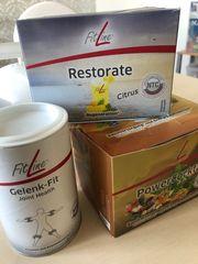 Fitline Powercoctail Restorate und Gelenkfit