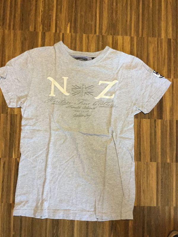 T-Shirt New Zealand Auckland Grau