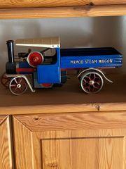Wilesco-Mamod Steam Wagon blau