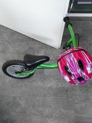 Laufrad mit Helm