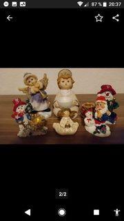 Weihnachtsfiguren Set