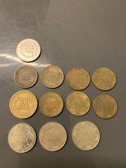 Kolumbianische Peso Pesos Münzen Geld