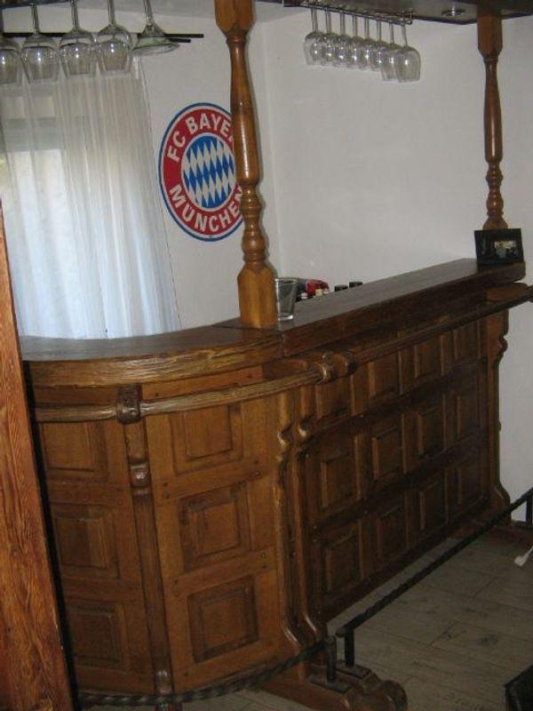 Rustikale Hausbar-Kellerbar