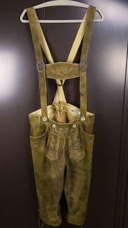 Lederhose Alphorn Größe 52 Kniebundlederhose