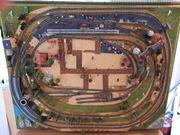 Modelleisenbahn Spur N Komplettanlage 100