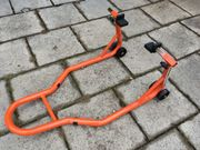 Montage-Ständer Hi-Q-Tools für Gabelschwinge hinten