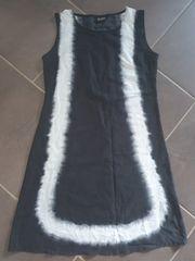 Kleid weiss schwarz NEU Gr