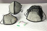 10 Stück Zweischichtige Baustellenmaske Vlies