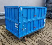 Rollwagen Eurobehälter Aufsatzrahmen Euromaß Lagerwagen