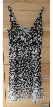 Schwarz-beiges Kleid von Gerry Weber