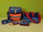 5 teilige Schulranzen set Scout