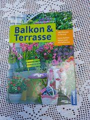 Neuwertiges modernes Gartenbuch Balkon Terrasse
