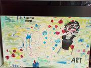 Acrylbild--Apstrakt--