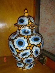Deckel Vase aus den 30