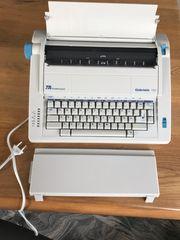 Elektrische Schreibmaschine Der Marke Triumph