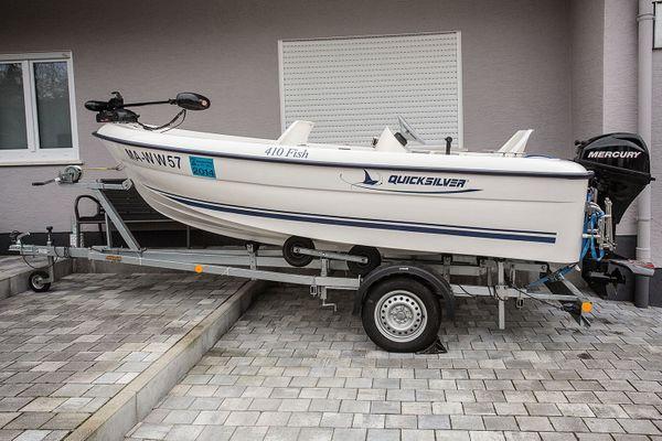Top Angel-Motorboot Quicksilver Fish 410