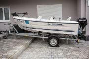 Top Angel-Motorboot Quicksilver Fish 410