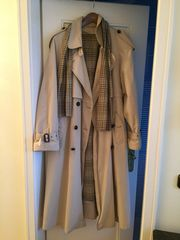 Damen Trenchcoat beige Gr 44