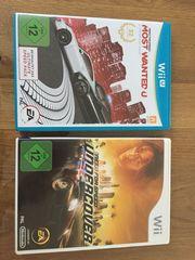Wii U und Wii Spiele