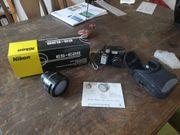 Nikon Coolpix 4300 mit Vorsatz