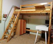 FLEXA Etagenbett mit Schrägleiter Doppelstockbett