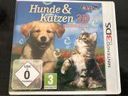 Nintendo 3DS Katzen und Hunde