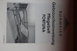 Medizinische Hilfsmittel, Rollstühle - Pflegebett von Burmeier