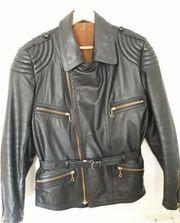 Haelson Motorradjacke Retro Vintage