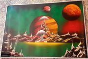 Paint spray art Bild mit