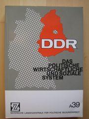 DDR - Das politische wirtschaftliche und