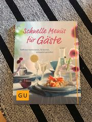 Kochbuch Schnelle Menüs für Gäste