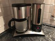 Cloer Filterkaffee Automat Edelstahl Milchglaskanne