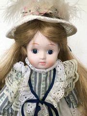 Sammler Puppe 46 cm Porzellan