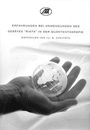 Buch zur Anwendung des Gerätes