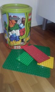 Lego Steine Box mit Platten