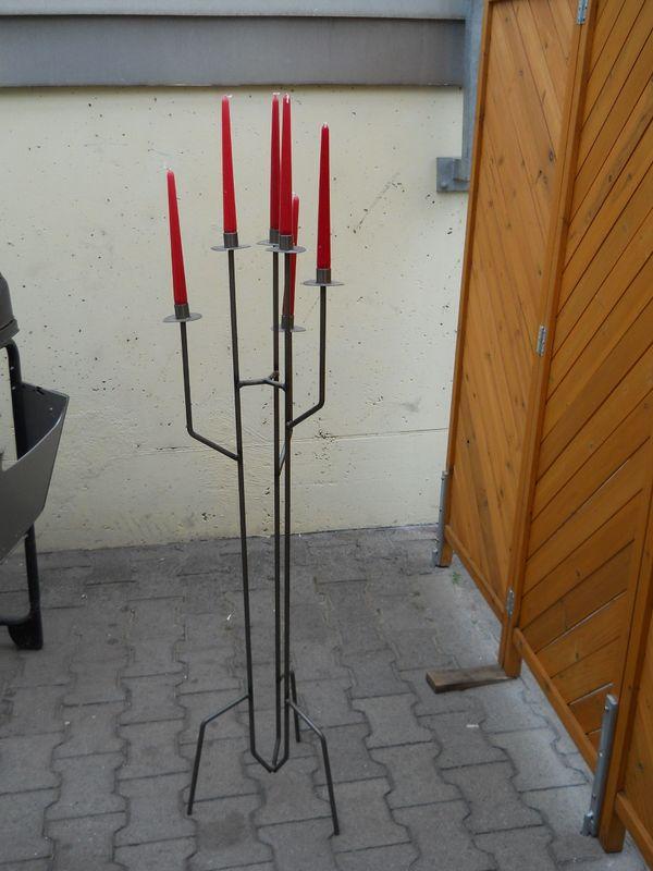 Edler Kerzenständer aus Metall Terrasse