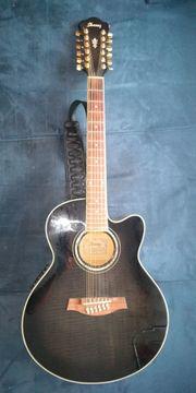 12saitige Westerngitarre von Ibanez zu