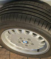 BMW Alufelgen inklusive Sommerreifen