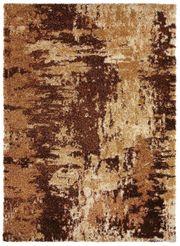 NEU Hochflor-Teppich 200x290 braun beige
