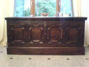 Große Eichentruhe antik 1730 Antiquität