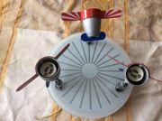 Deckenlampe Flugzeugmotiv für Kinderzimmer