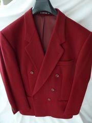 Herren Blazer rot - warm - Gr