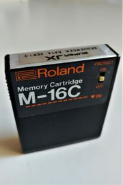 ROLAND M-16C Memory Cartridge