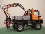 Lego 8110 Mercedes Unimog 400