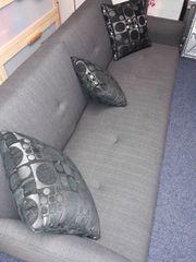 Couch klappbar Farbe grau
